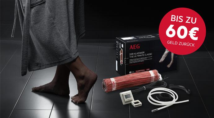 Fußbodentemperierung THERMO BODEN von AEG Haustechnik
