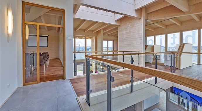 Sonnleitner Kundenzentrum Holzbau