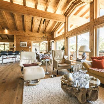 Massivholzhaus Kitzbühel von Chiemgauer Holzhaus