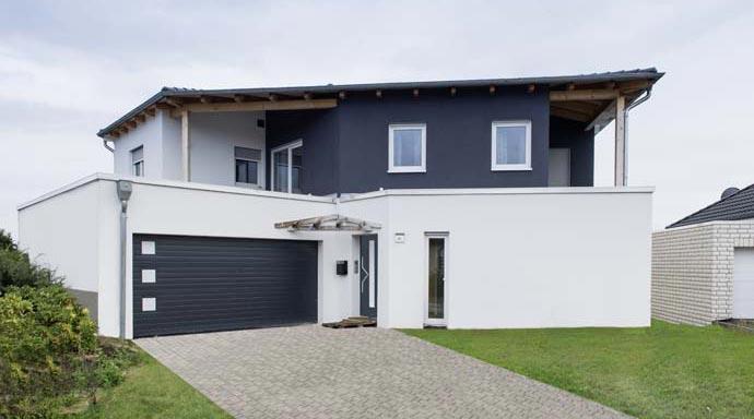 Ytong Bausatzhaus Kundenhaus Berg/Nowak Außenansicht