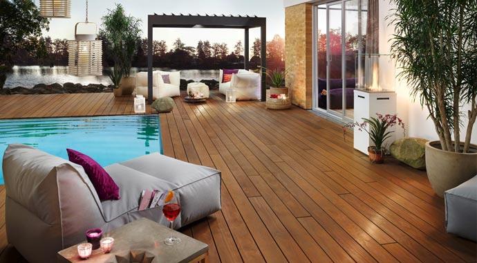 Photo de terrasse: terrasse umbauen: sanieren oder komplett neu
