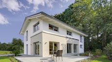 Haas Fertigbau Musterhaus Basic Line Jubilée XL Plus
