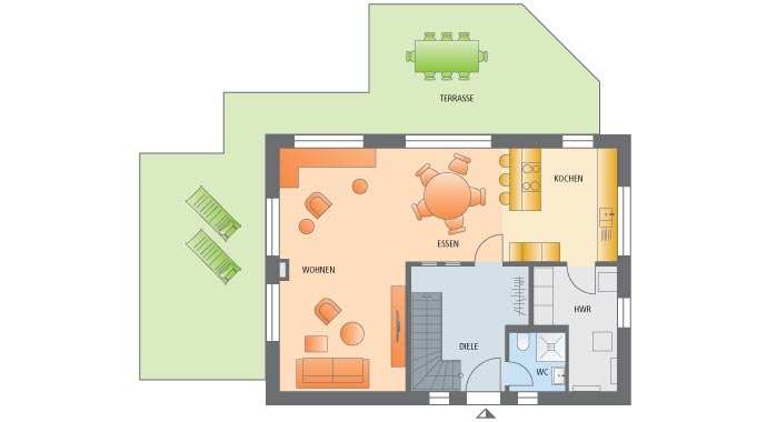 viebrockhaus musterhaus maxime 300. Black Bedroom Furniture Sets. Home Design Ideas