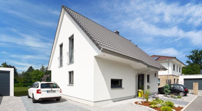 Heinz von Heiden Einfamilienhaus M 52 Außenansicht