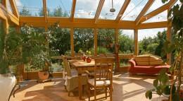 Glashaus SDL Aura von Solarlux.