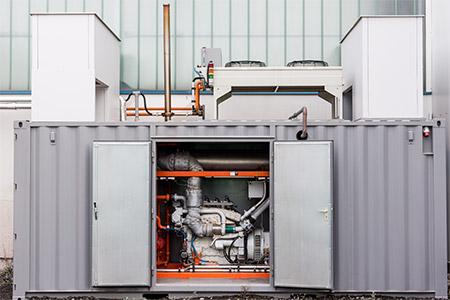 Blockheizkraftwerk im Einsatz bei Glatthaar Keller