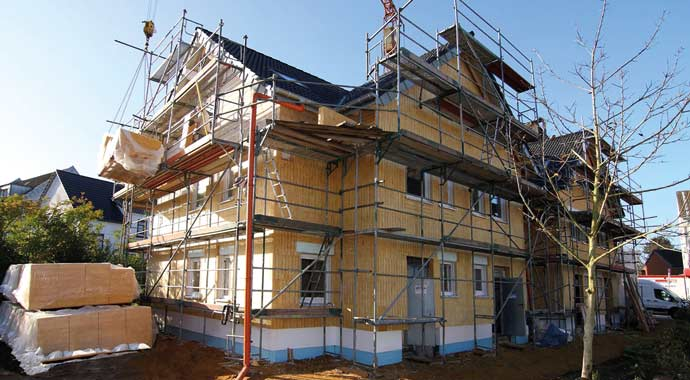 Fassadendämmung mit Isover