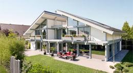 Außenansicht Kundenhaus Friedrichsen von Davinci Haus