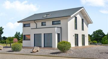 Außenansicht Musterhaus Mülheim-Kärlich von Living Haus