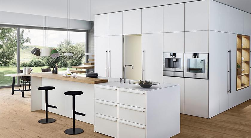 informationen und einrichtungsideen f r die offene k che. Black Bedroom Furniture Sets. Home Design Ideas