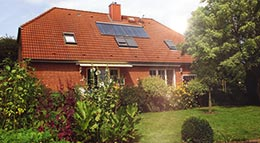 Heizungstausch mit Extrabonus für eine Solarthermie-Anlage von Paradigma