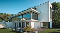 Finstral Villa Mauthe Außenansicht