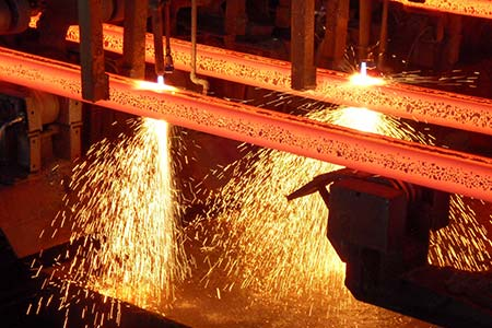 Symboldbild Stahlherstellung