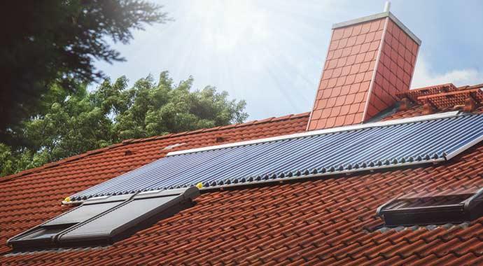 Solarthermie-Anlage von Paradigma