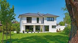 Außenansicht Haus Briano von Gruber Holzhaus
