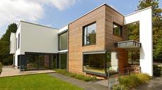 Holzfertigbauweise Baufritz Designhaus Crichton