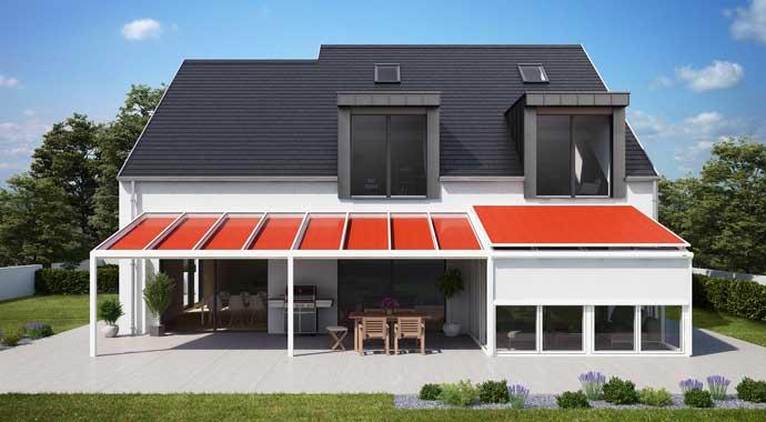 wintergarten und unterglasmarkisen von markilux. Black Bedroom Furniture Sets. Home Design Ideas