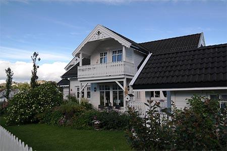 Haus mit Veranda