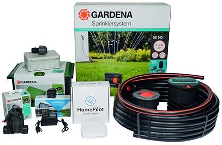 Smarte Rasenbewässerung von Rademacher