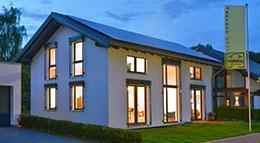 Partner-Haus Musterhaus Wuppertal Außenansicht