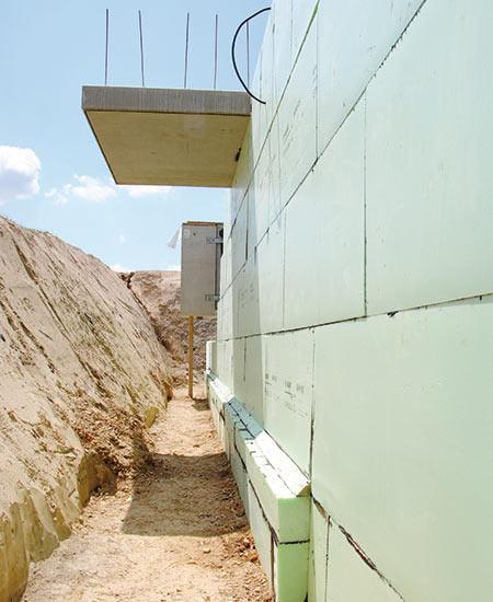 Kellerdämmung von Glatthaar