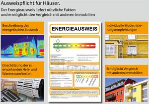 Der Energieausweis liefert nützliche Informationen über Wohngebäude.