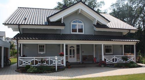 Nordic-Haus Haus Kühling Außenansicht