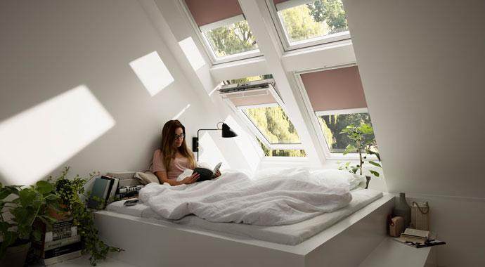 sonnenschutz f r velux dachfenster. Black Bedroom Furniture Sets. Home Design Ideas