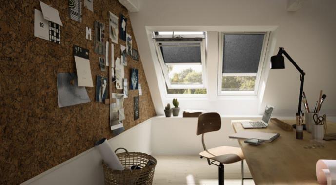 Sonnenschutz f r velux dachfenster for Sonnenschutz dachfenster