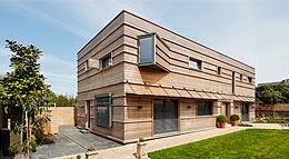Außenansicht Architektenhaus von Bau-Fritz