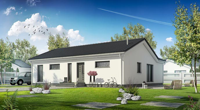 dan wood bungalow family 112 hurra wir bauen. Black Bedroom Furniture Sets. Home Design Ideas