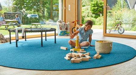 Runder Teppich von tretford