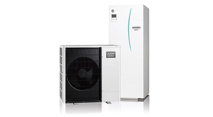 Luft-Wasser-Wärmepumpe Ecodan von Mitsubishi
