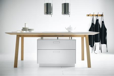 Tisch-Arbeitsplatte next 125 von Schüller