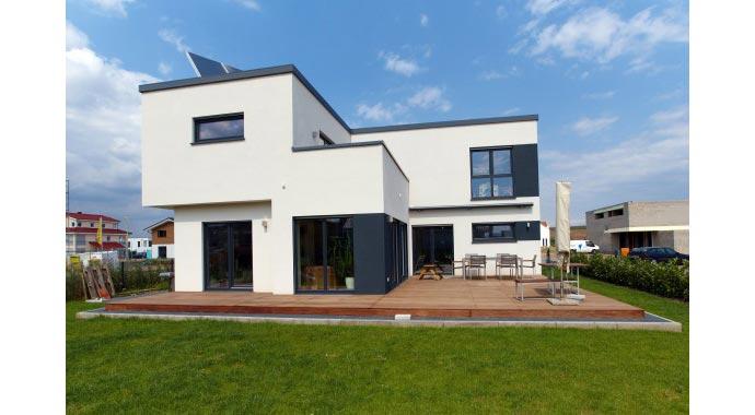 b denbender hausbau kundenhaus widdersdorf. Black Bedroom Furniture Sets. Home Design Ideas