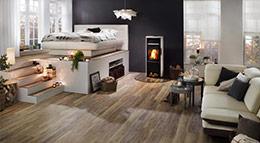 Project Floors Designbodenbelag im Schlafzimmer