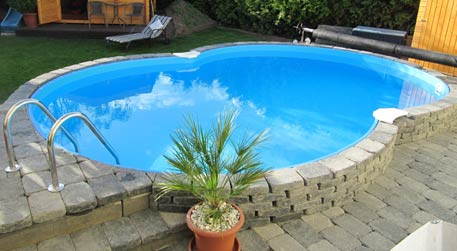 Achteckbecken-Pool von www.garten.com