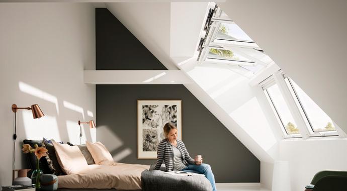 Dachfenster Lichtlösung Panorama von Velux
