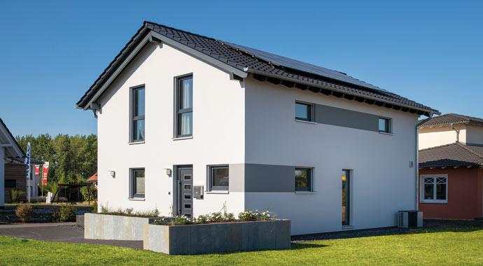 Außenansicht UNO 2.0 - Musterhaus Leipzig von FingerHaus