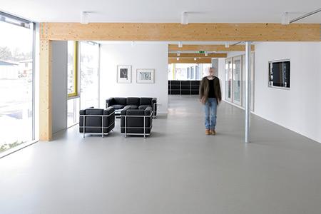 Innenbereich Unternehmenszentrale von Linzmeier