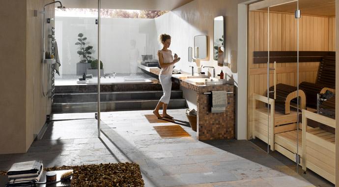 Sauna Mocca Ambiente von Helo