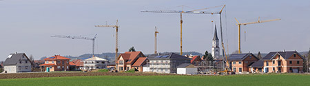 Symboldbild Neubaugebiet