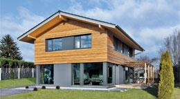 Außenansicht Haus Heidi von Regnauer Hausbau