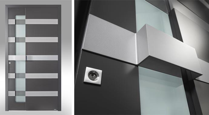 WERU Aluminium-Haustür ATRIS-style