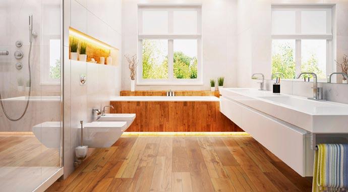 Logoclic Aquasplash für Badezimmer und Küche