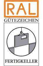 Logo Gütegemeinschaft Fertigkeller (GÜF)