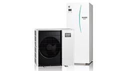 Mitsubishi Luft-Wasser-Wärmepumpe Ecodan