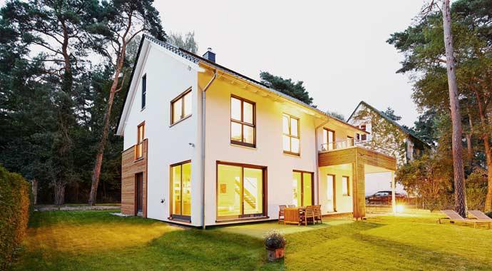 Außenansicht Haus Waldsee von Gussek Haus