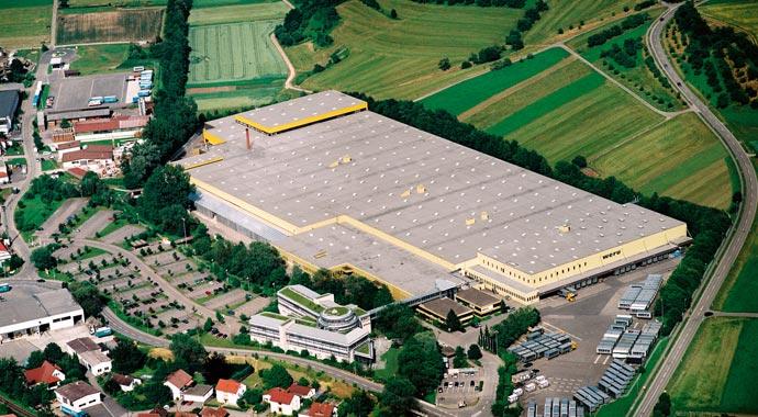 Weru Firmensitz in Rudersberg