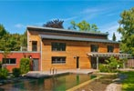 Baufritz Familienhaus Lifestyle Außenansicht